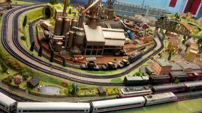 Scale Model Scene Set-up