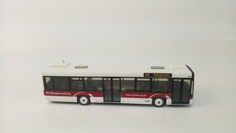 1:87 VK Modelle Solaris U12, 2türig, BSVAG, Wg. 0918, 418 Riddagshausen