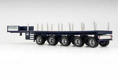 1:87 Vk Modelle 5-Axle Ballast Trailer Wasel