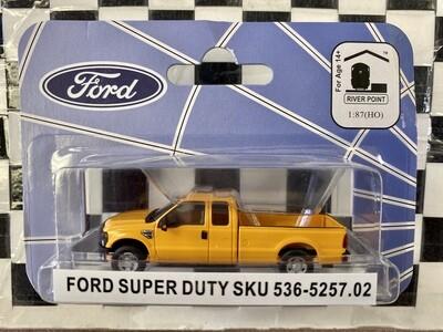 1:87 RPS Ford F-250 Super Duty SRW (Yellow)