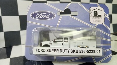 1:87 RPS Ford F-350 Super Duty 4X4 SRW Service Truck (White)