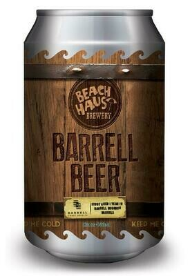 Barrell Beer Stout - 12 oz. (4 pack)