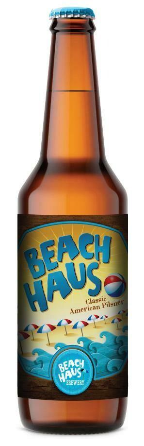 Beach Haus Pilsner (6 Pack Bottles)