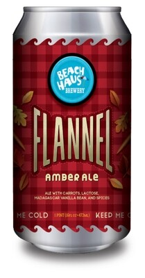 Flannel Amber Ale - 16 oz. (4 pack)