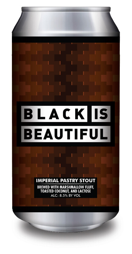 Black Is Beautiful - 16 oz. (4 pack)