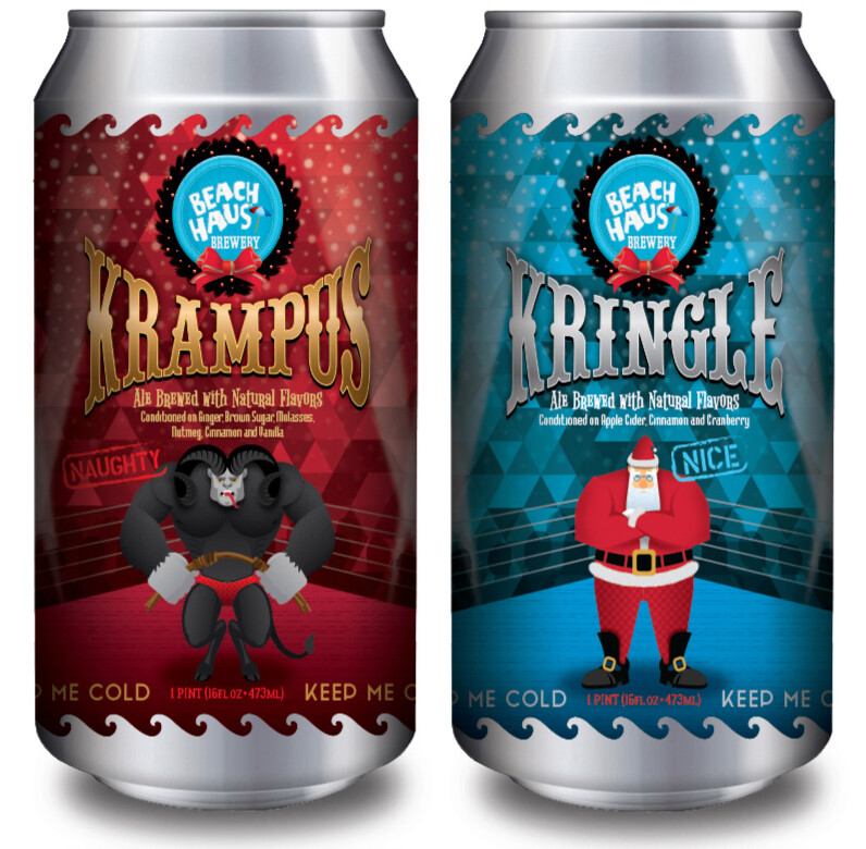 Krampus/kringle 4pack