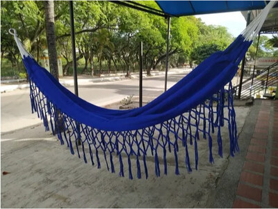 Hamacas Tejida en algodón 100% artesanía colombiana