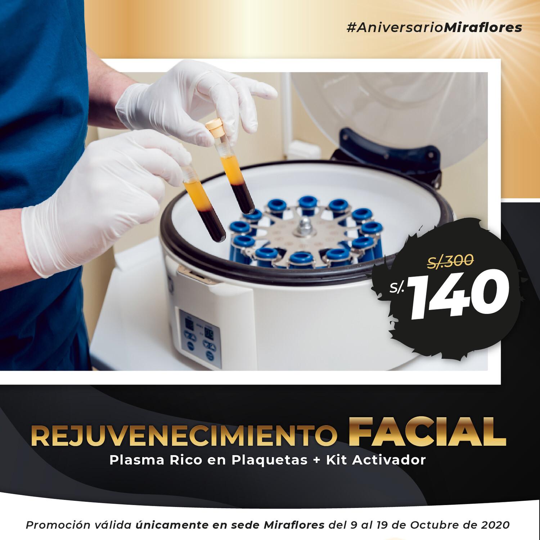 Plasma Rico en Plaquetas + Kit Activador