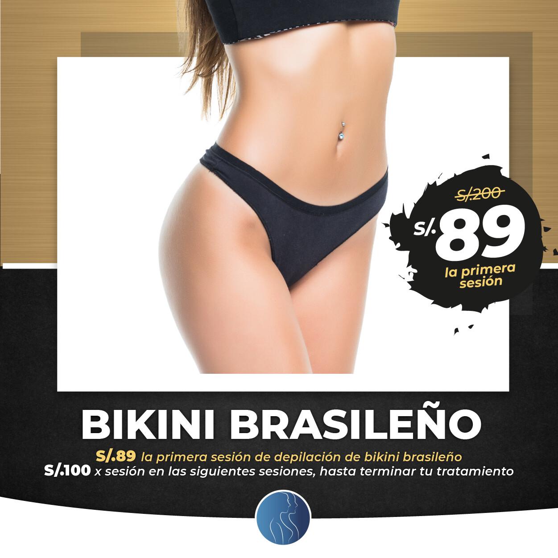 Depilación Bikini Completo