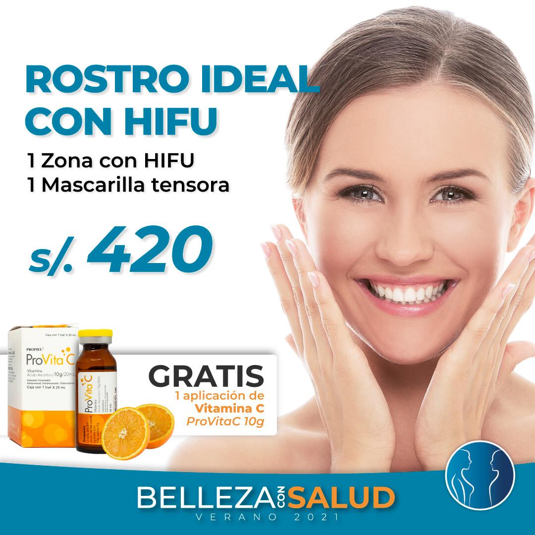Rostro Ideal con HIFU