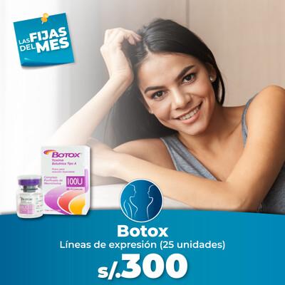 Botox (25 unidades)