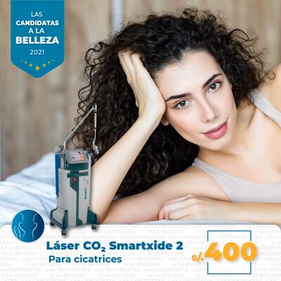 Láser CO2 para cicatrices