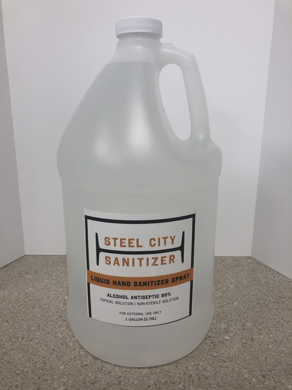 Steel City Sanitizer - 1 Gallon Jug