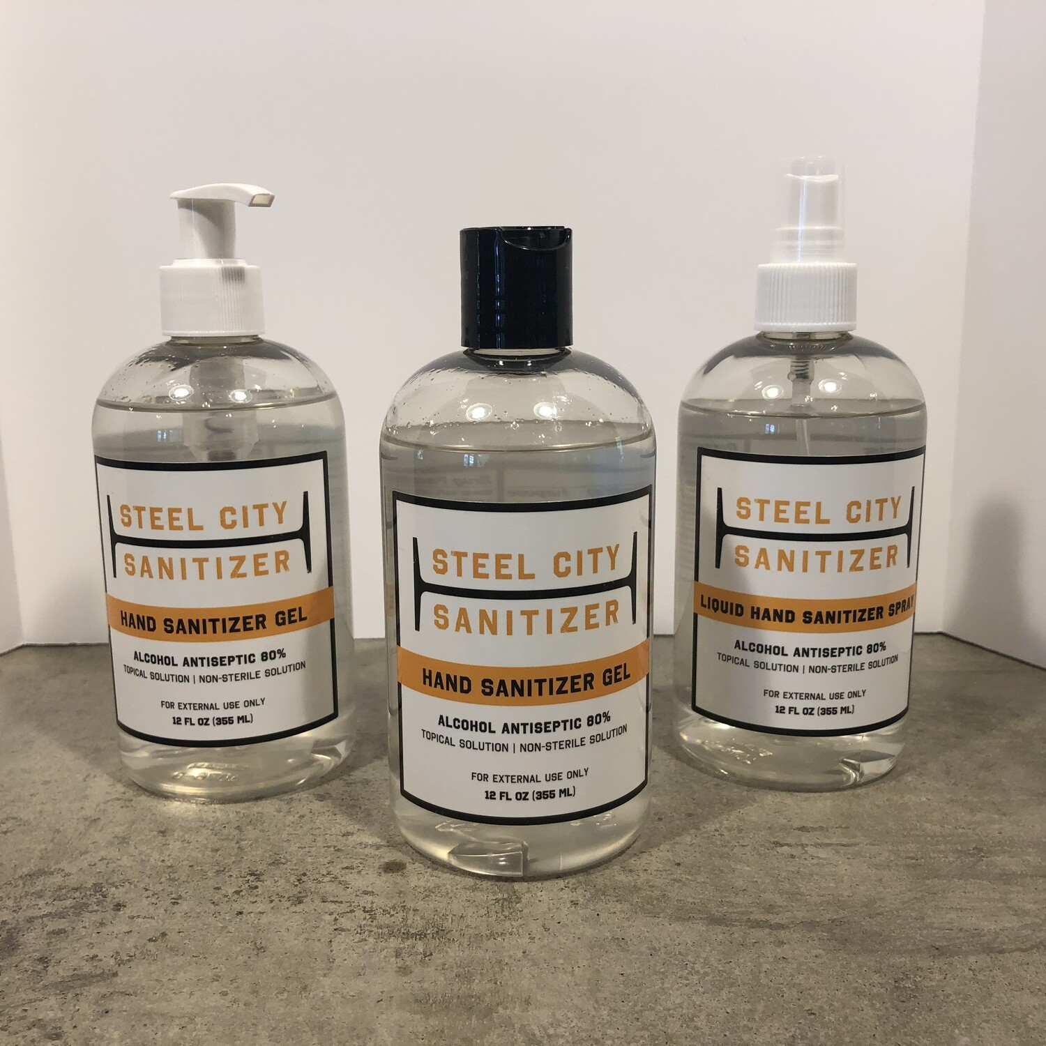 Steel City Sanitizer 12 oz. Sample Pack