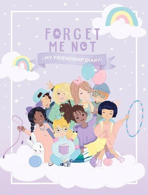 Forgetmenot Friendship Diary