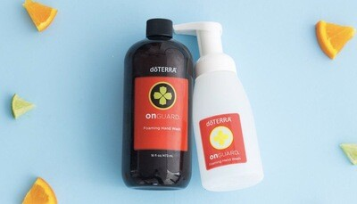 DoTERRA Onguard Foaming Hand Soap + Dispenser / 473 ml