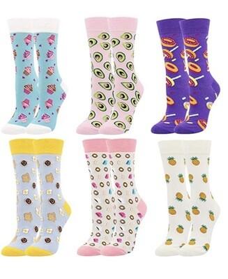 Fun Socks Size 4.5-7.5 UK / 36-40 EU 🥑