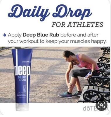 Deep Blue Rub 🏃♀️🏃♂️