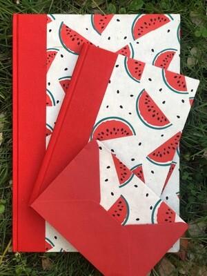 Nibu Letterpress Watermelon Set 🍉