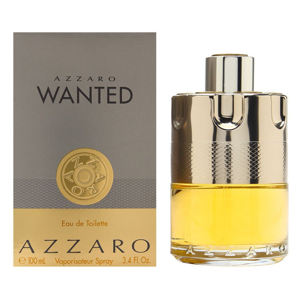 AZZARO WANTED HOMME EAU EDT SP 100ML