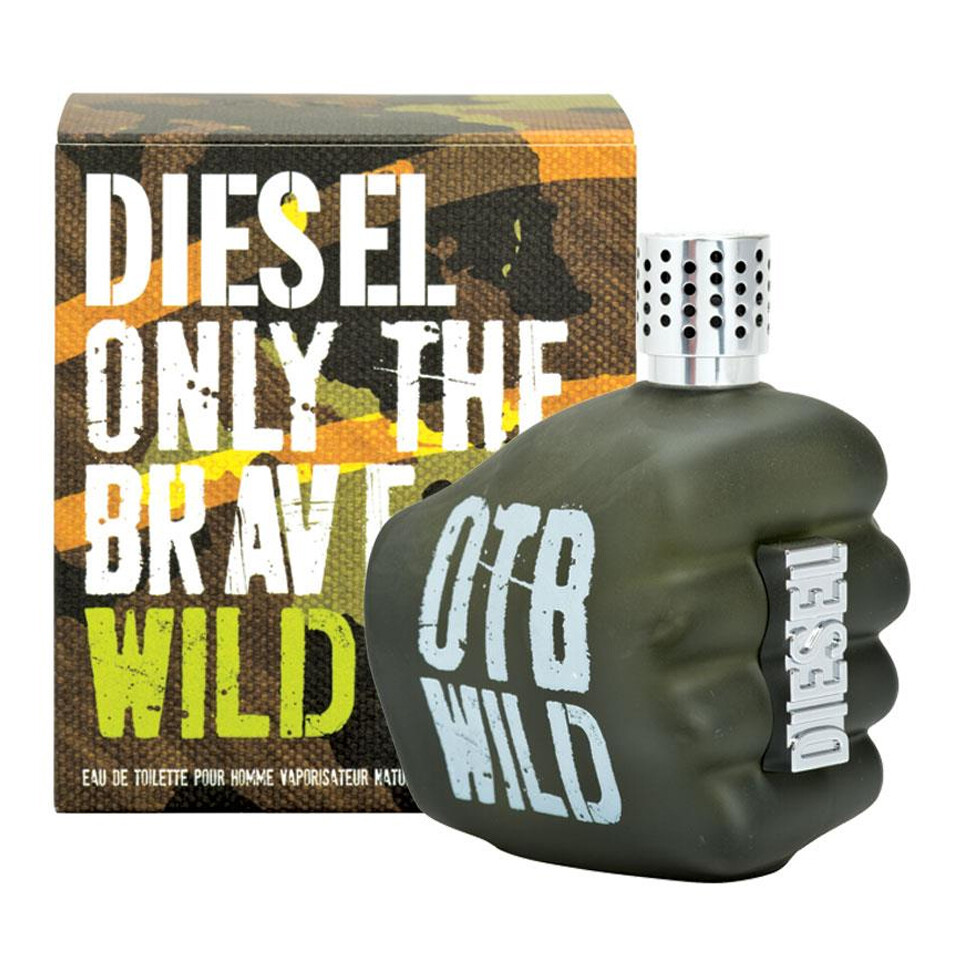 DIESEL ONLY THE BRAVE WILD POUR HOMME EDT 125ML
