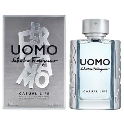 FERRAGAMO UOMO CASUAL LIFE POUR HOMME 100ML