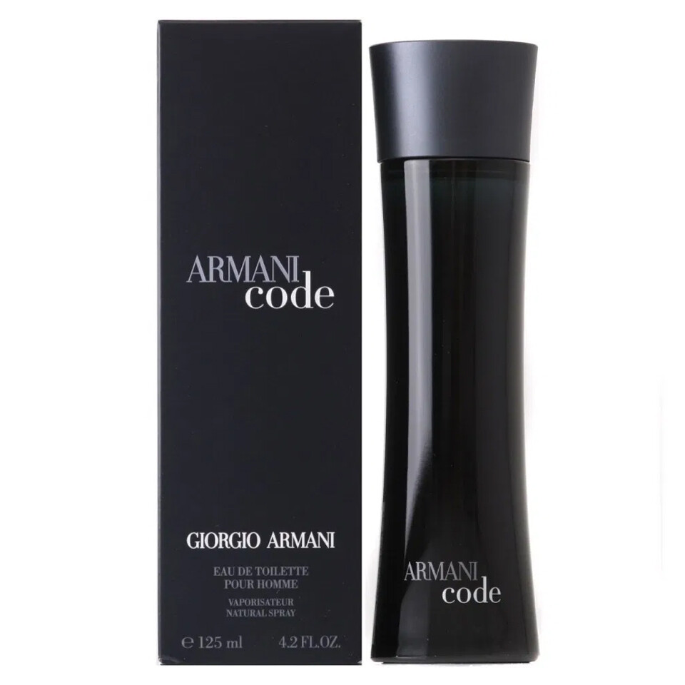 GIORGIO ARMANI CODE HOMME EAU EDP 125ML