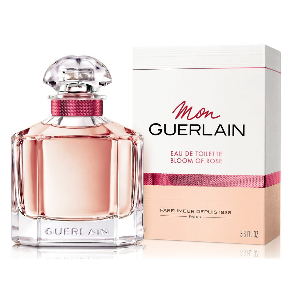 GUERLAIN MON BLOOM OF ROSE FEMME EAU EDP SP 100ML