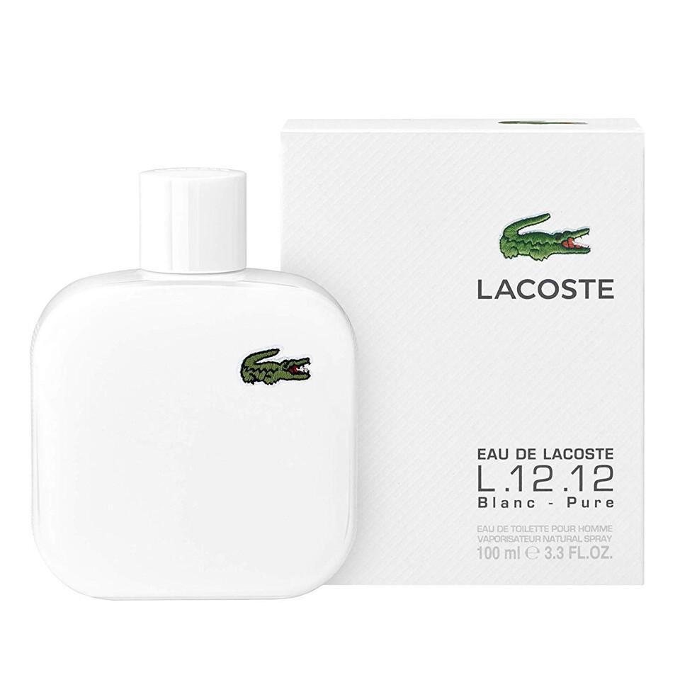LACOSTE EAU DE LACOSTE L12.12 BLANCO HOMME EDT SP 100ML