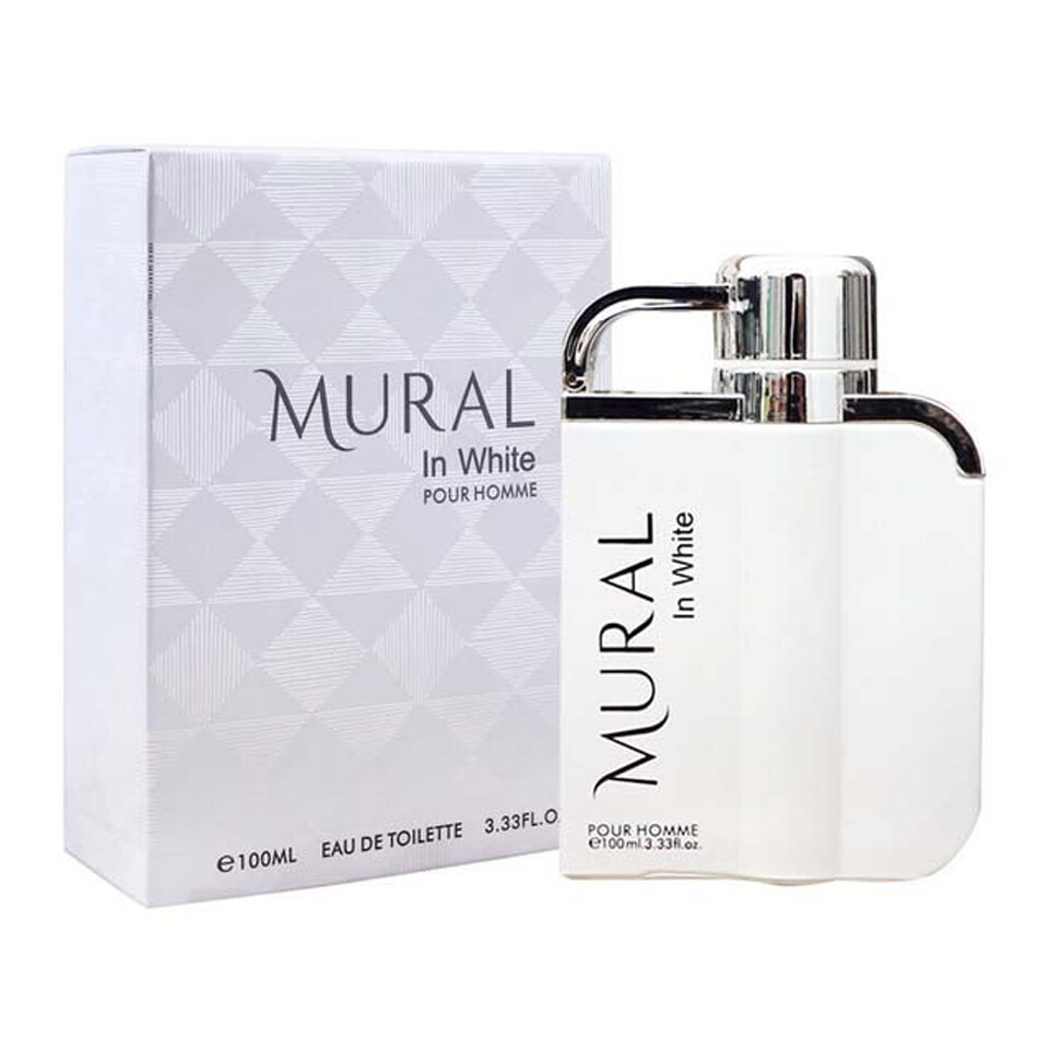 MURAL IN WHITE POUR HOMME EDT SP 100ML