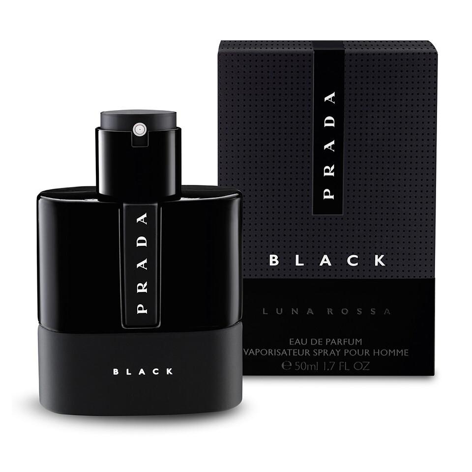 PRADA LUNA ROSSA BLACK POUR HOMME EAU EDP SP 100ML
