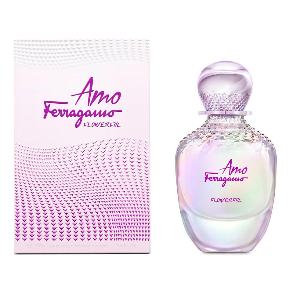 SALVATORE FERRAGAMO AMO FLOWERFULL FEMME EAU EDP SP 100ML