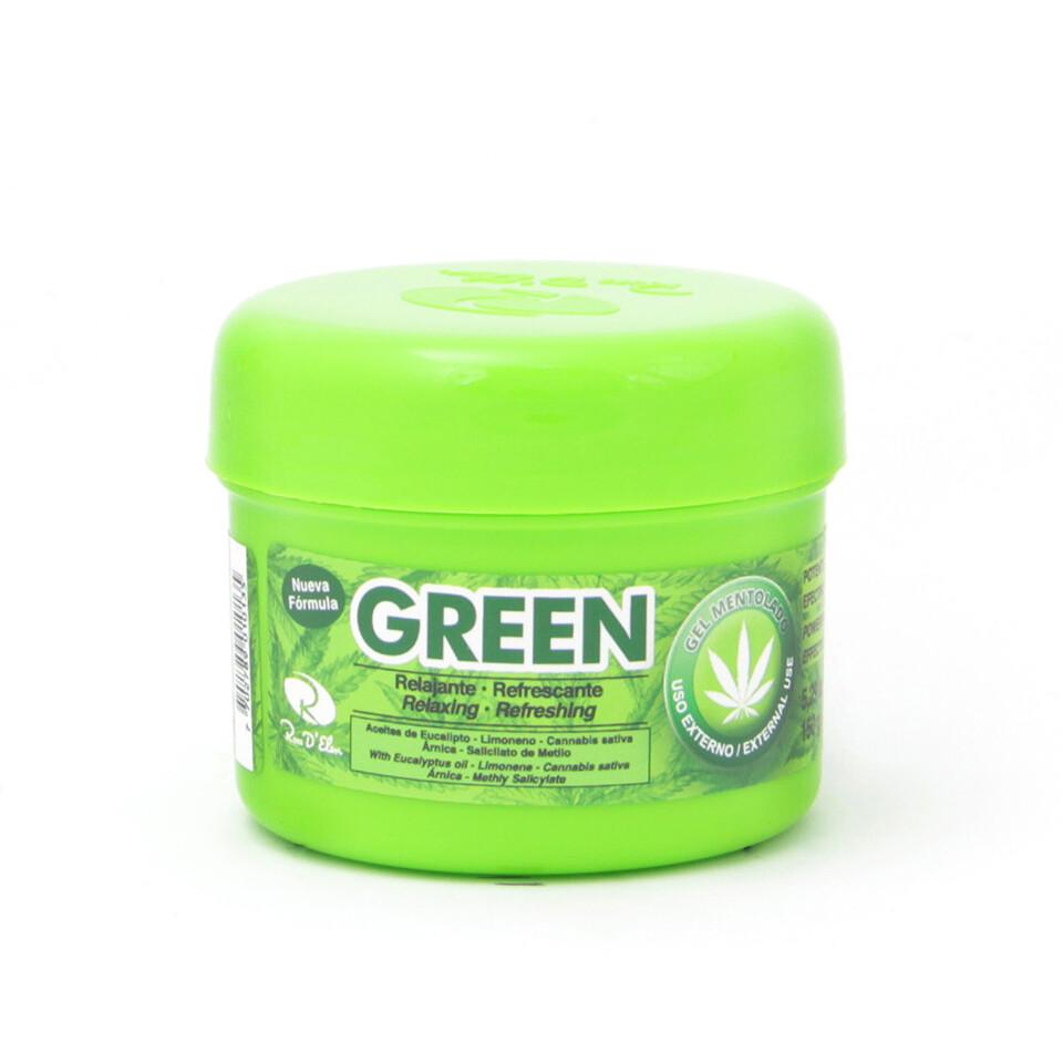 GEL MENTOLADO RELAJANTE GREEN 150G