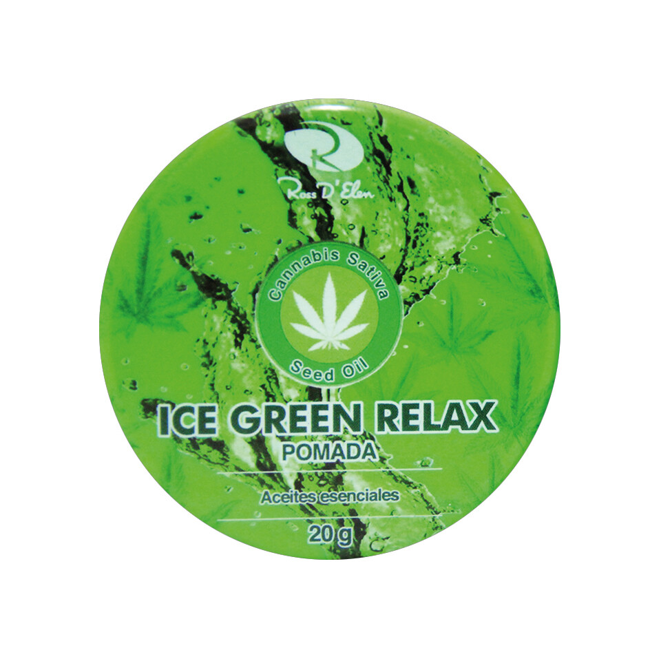 POMADA ICE GREEN RELAJANTE 20G
