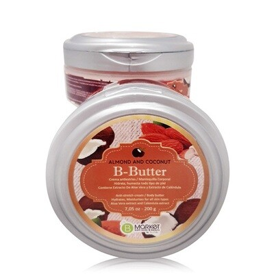 B-BUTTER ALMOND AND COCONUT 200 G.