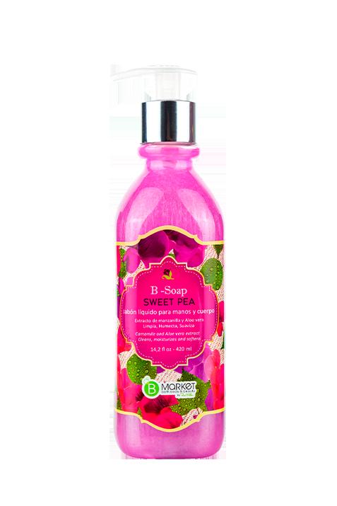 B-SOAP SWEET PEA 420ML