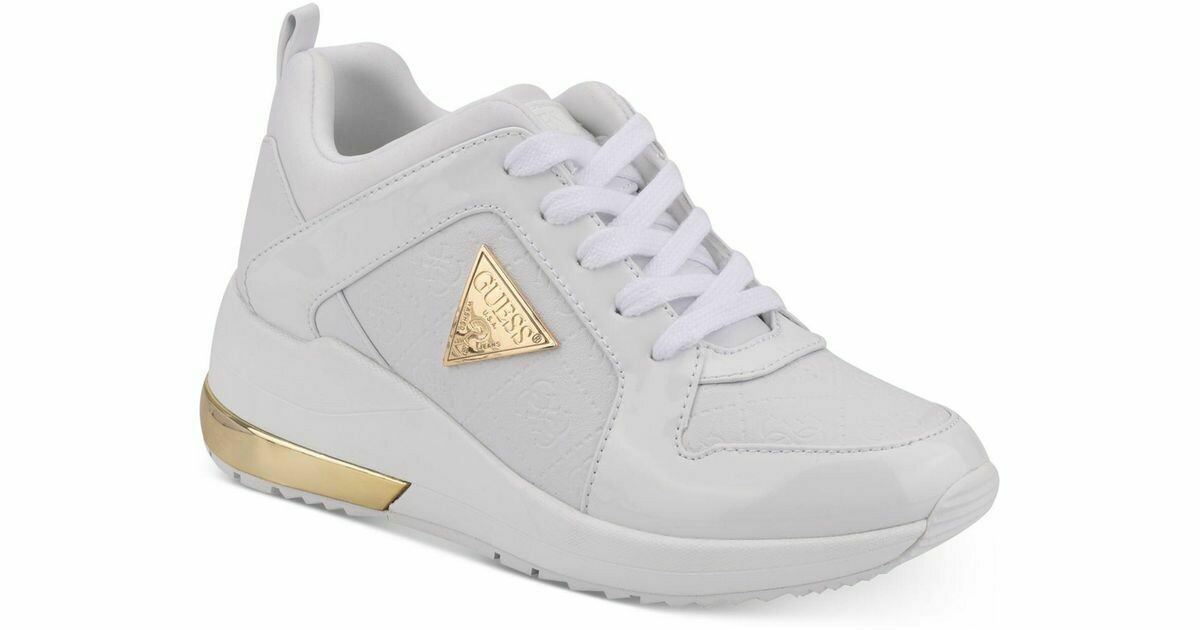 GUESS ZAPATILLAS JARYDS5-A COLOR WHITE