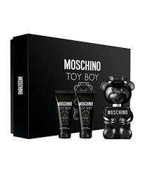 MOSCHINO ESTUCHE TOY BOY (3 PIEZAS: BATH AND SHOWER GEL, PERFUMED, EDP 50ML)