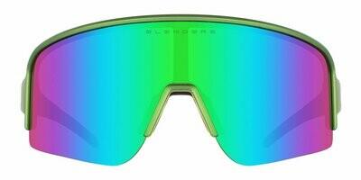 BLENDERS/ HARD THUNDER (SATIN GREEN/ POLARIZED BLUE)