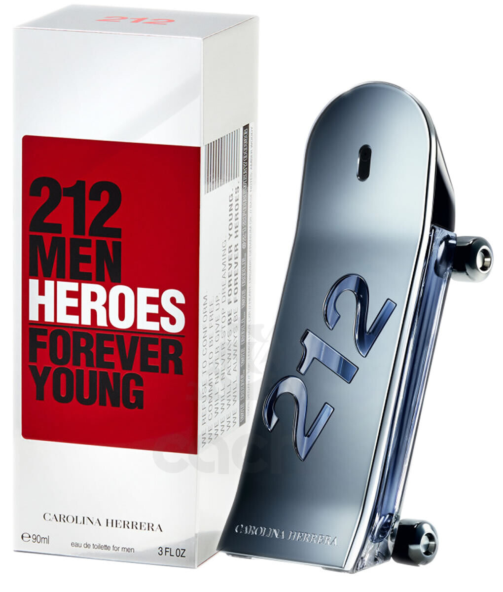 212 MEN FOR EVER YOUNG/ EDT FOR MEN 90ML