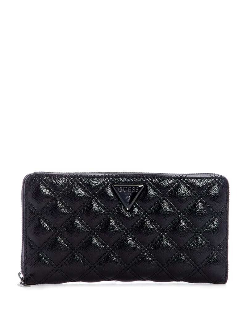 GUESS CESSILLY XL BLACK WALLET