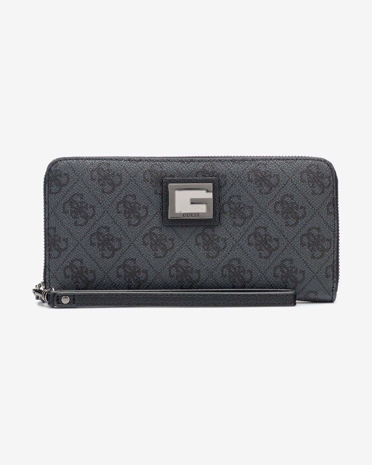 GUESS VALY COAL BLACK WALLET