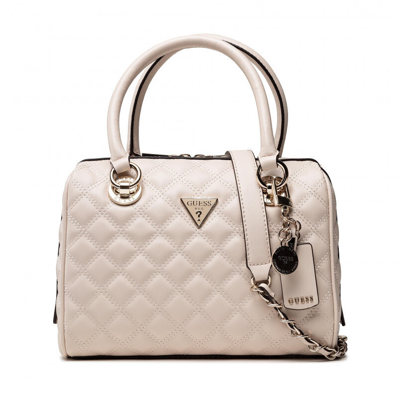 GUESS CESSILLY STONE  BOX SATCHEL