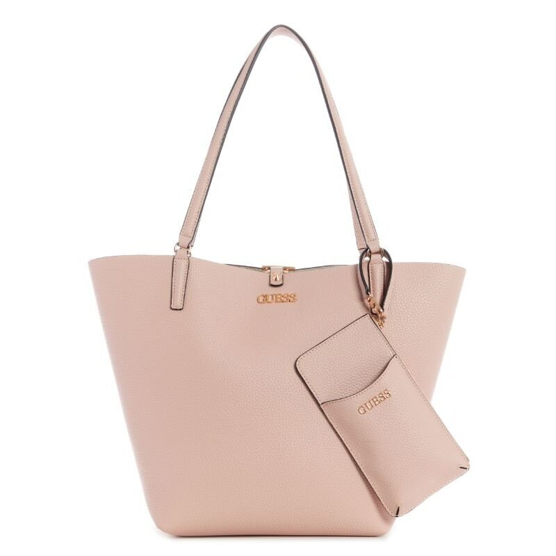 GUESS ALBY TOGGLE TOTE ROSE