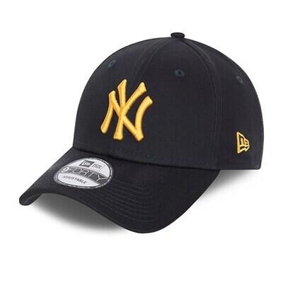 NEW ERA 9FORTY NAVY GOLD YANKEE CAP