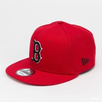 NEW ERA 9FIFTY RED BOSTON SNAPBACK ADJUSTABLE