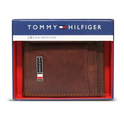 BILLETERA MAGNETICA TOMMY HILFIGER - PARA CABALLERO - CON PROTECCIÓN RFID