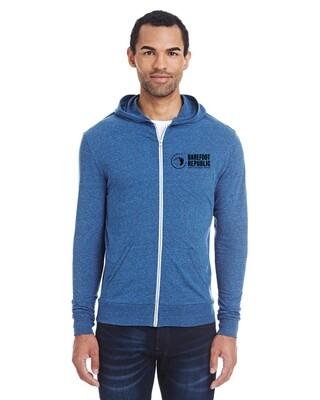 BRC Hooded Lightweight Jacket - Blue