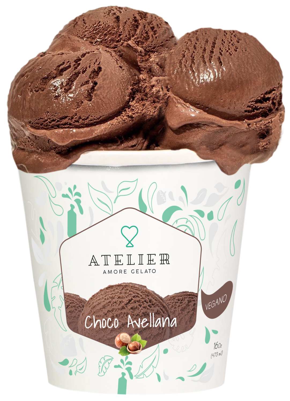Choco avellana (gianduia) Vegana 500ml