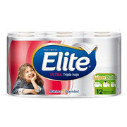 Papel Higiénico Elite Rollo  X 12 Rollos